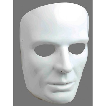 White Face Mask-male