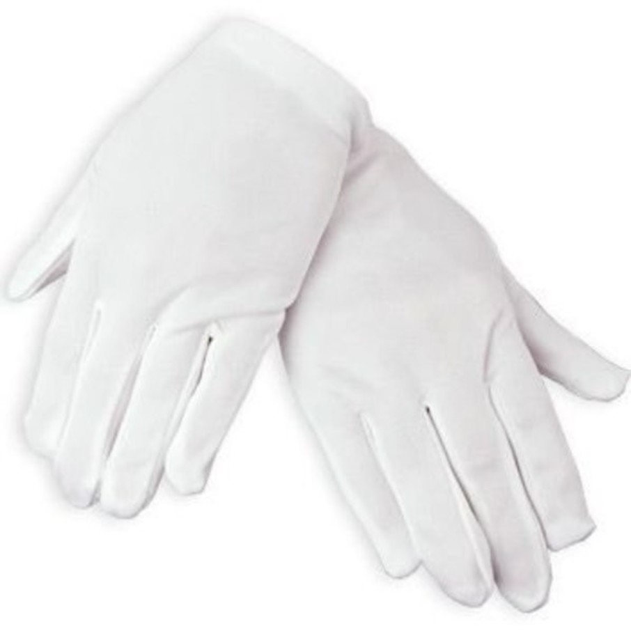 View larger image of White Gloves (pair)
