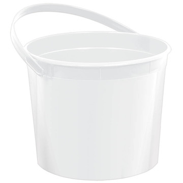 White Plastic Bucket (Each)