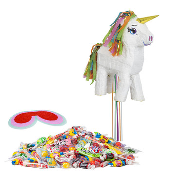 White Unicorn Pinata Kit