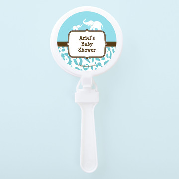 Wild Safari Blue Personalized Clappers (Set of 12)