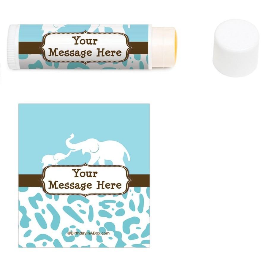 View larger image of Wild Safari Blue Personalized Lip Balm (12 Pack)