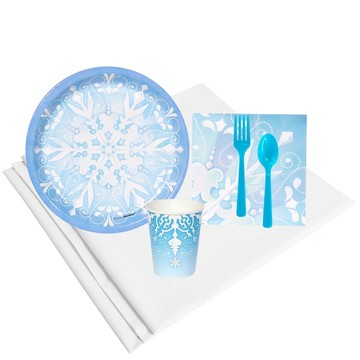 Winter Wonderland 16 Guest Party Pack