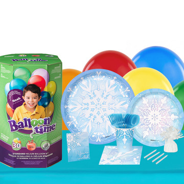 Winter Wonderland 16 Piece Tableware Helium Tank
