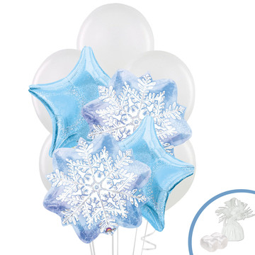 Winter Wonderland Balloon Bouquet