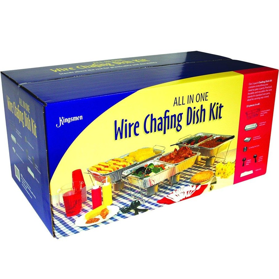 View larger image of Wire Chafing Dish Catering Set (24 Pieces)