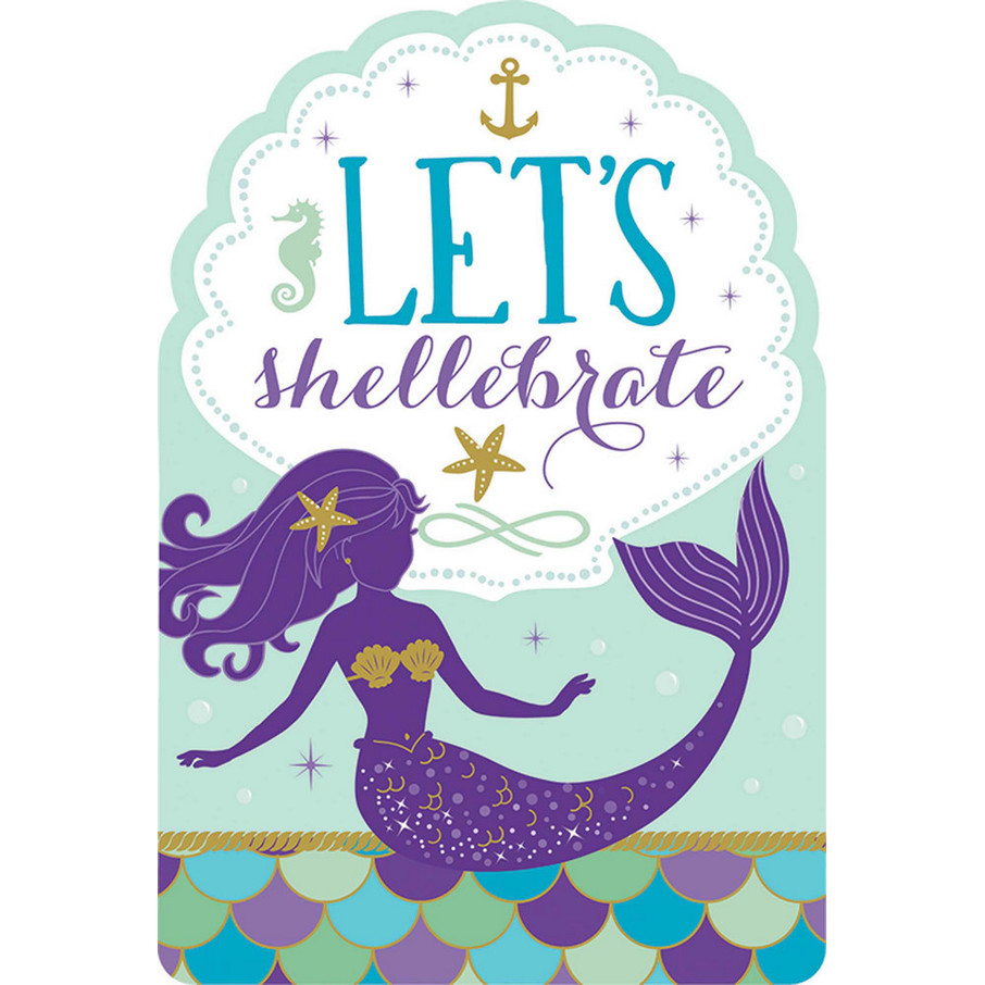 View larger image of Wishful Mermaid Invitations (8)
