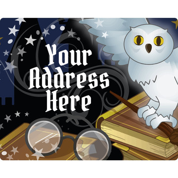 Wizard Personalized Address Labels (Sheet of 15)