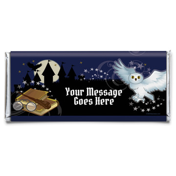 Wizard Personalized Candy Bar Wrapper (Each)