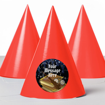 Wizard Personalized Party Hats (8 Count)