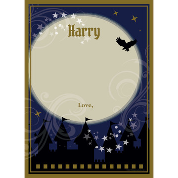Wizard Personalized Thank You (Each)