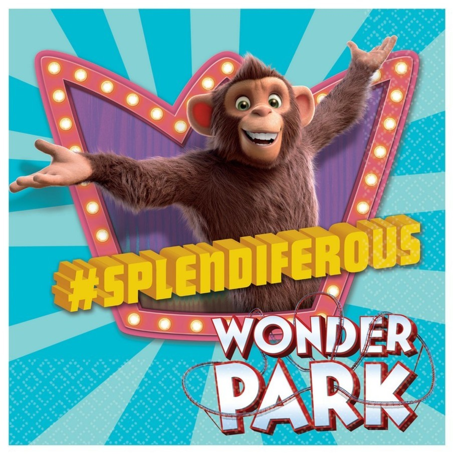 View larger image of Wonder Park Lunch Napkin (16)