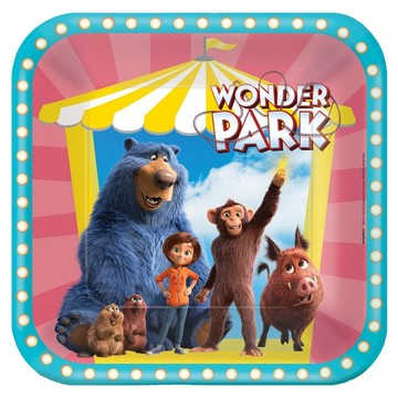 Wonder Park Square Lunch Plate (8)