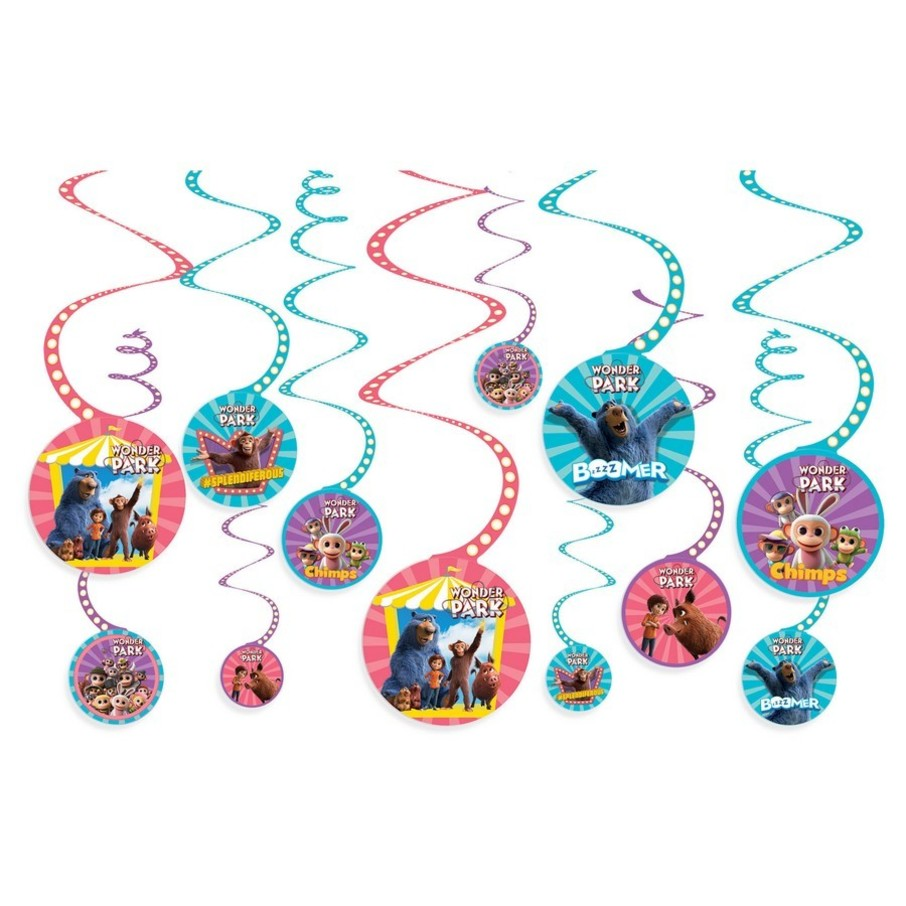 View larger image of Wonder Park Swirl Decoration Value Pack (12ct)