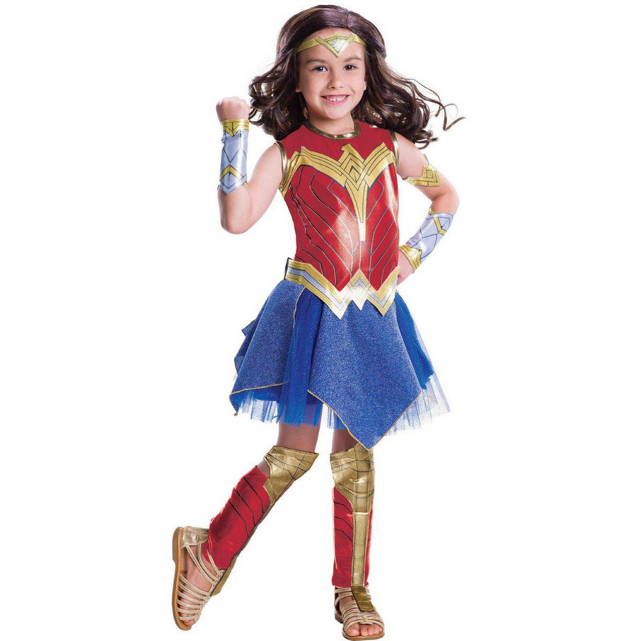 View larger image of Wonder Woman Movie - Wonder Woman Deluxe Children's Costume