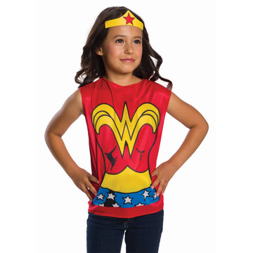 Wonder Woman Superhero Dress Up Set