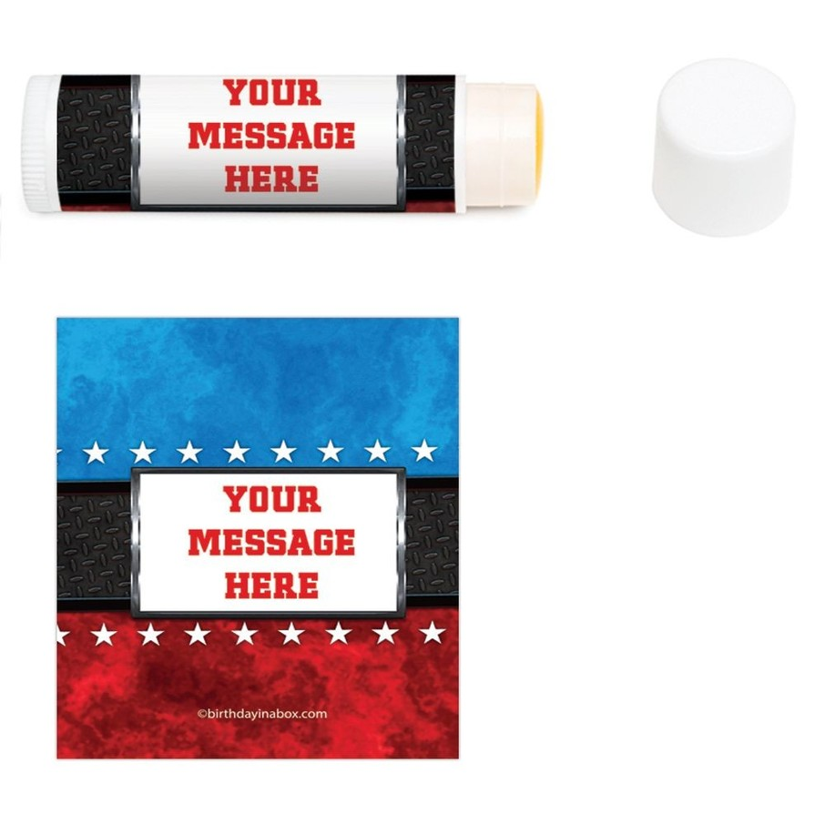 View larger image of Wrestling Party Personalized Lip Balm (12 Pack)