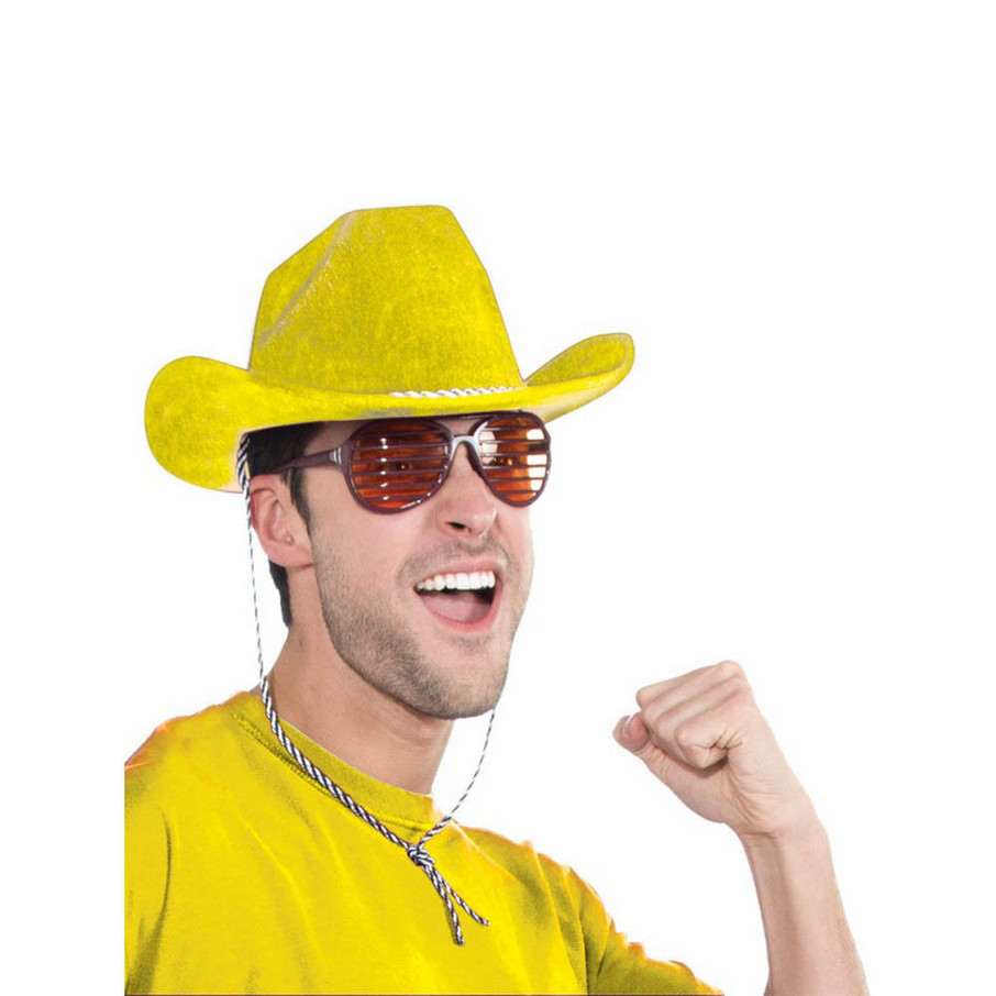 View larger image of Yellow Cowboy Hat
