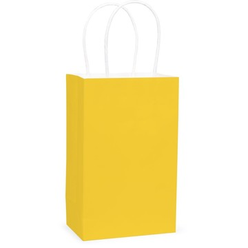 Yellow Favor Bag