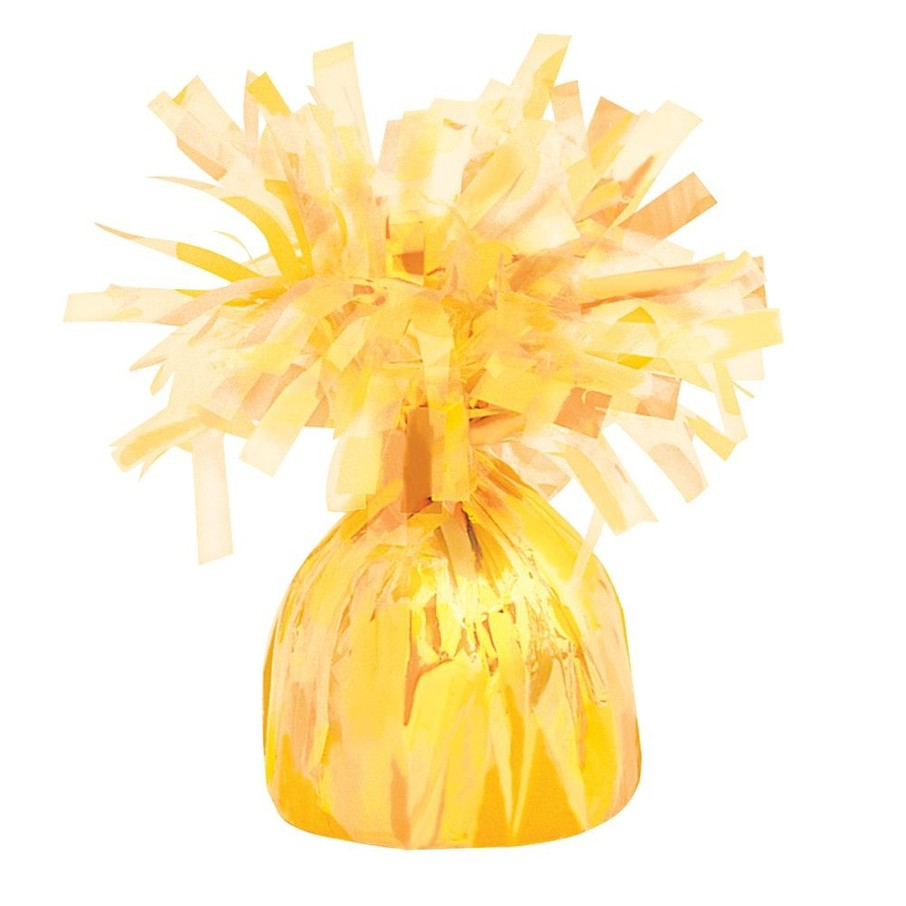 View larger image of Yellow Foil Balloon Weight