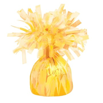 Yellow Foil Balloon Weight