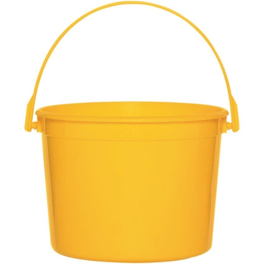 View larger image of Yellow Plastic Bucket