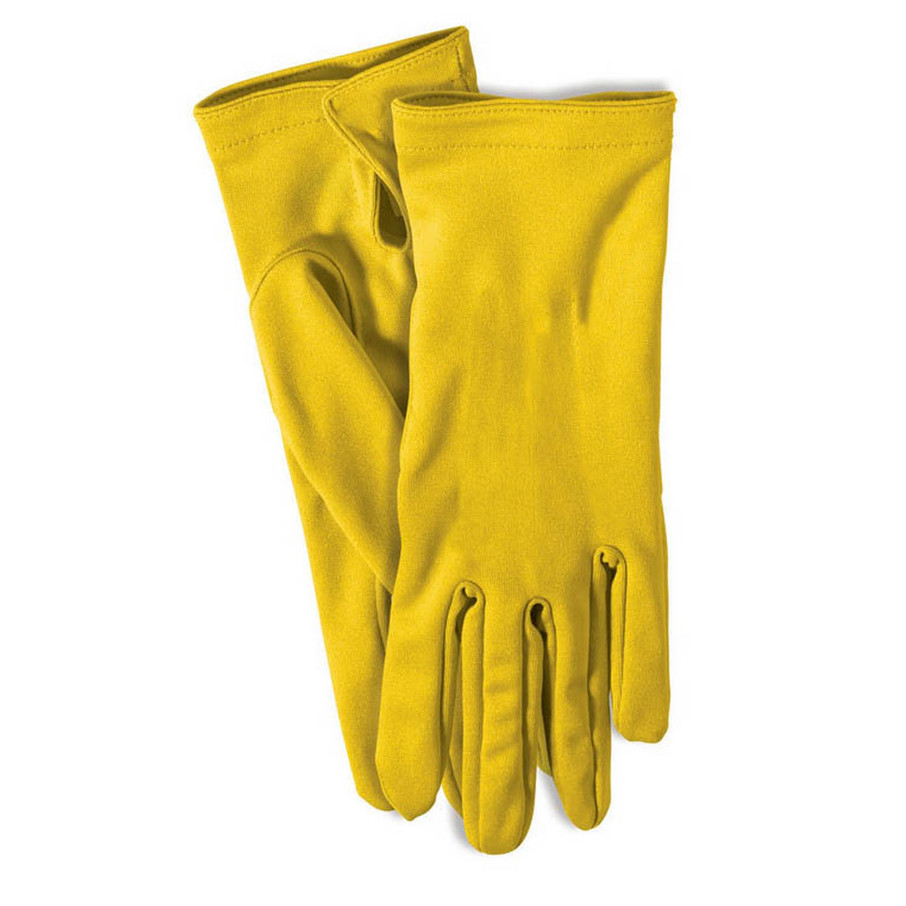 View larger image of Yellow Short Gloves
