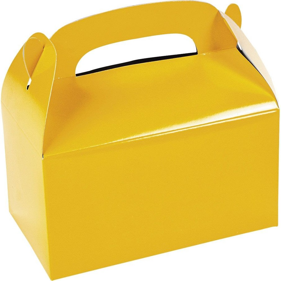 View larger image of Yellow Treat Favor Boxes (12)