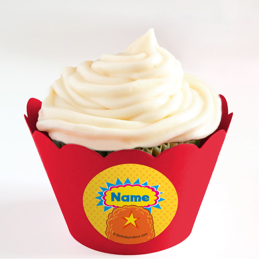View larger image of Yo Yo Dance Party Personalized Cupcake Wrappers (Set of 24)