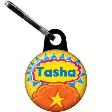 Yo Yo Dance Party Personalized Zipper Pull (Each)