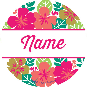 You Had Me At Aloha Personalized Mini Stickers (Sheet of 24)