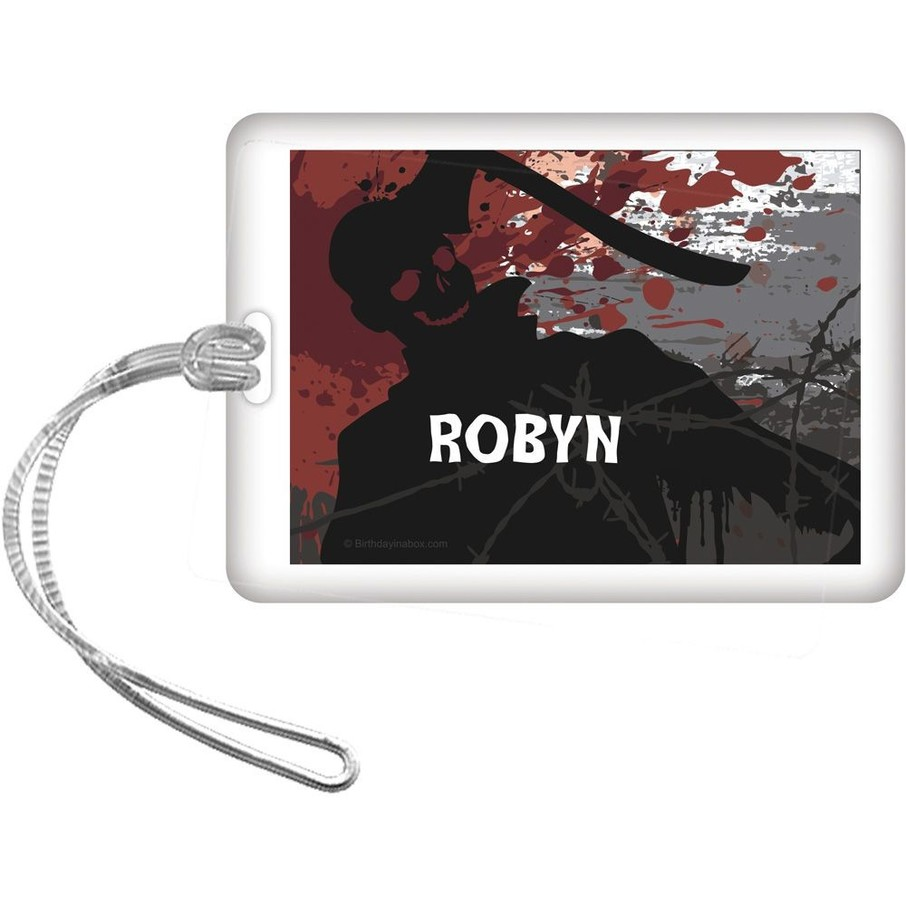 View larger image of Zombie Personalized Bag Tag (Each)