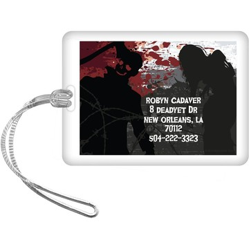Zombie Personalized Luggage Tag (Each)