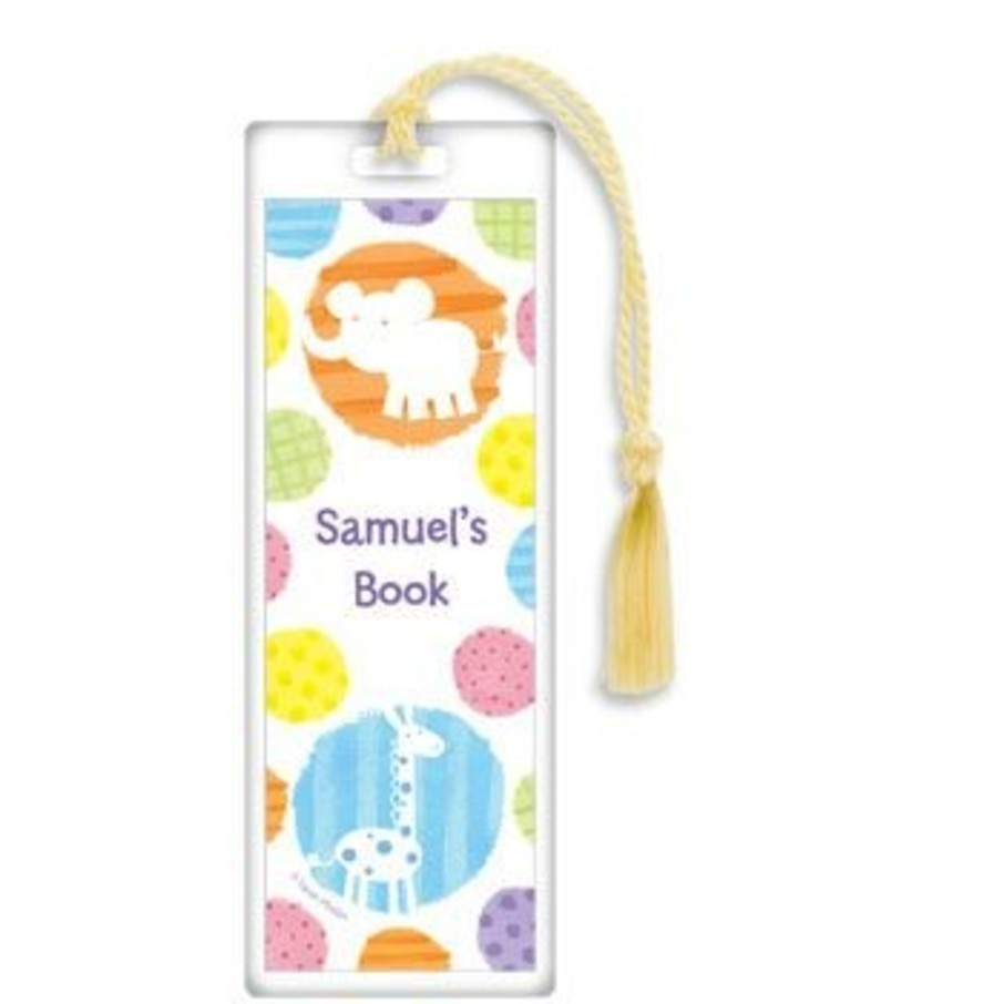 View larger image of Zoo Babies Party Personalized Bookmark (each)