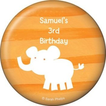 Zoo Babies Party Personalized Magnet (each)