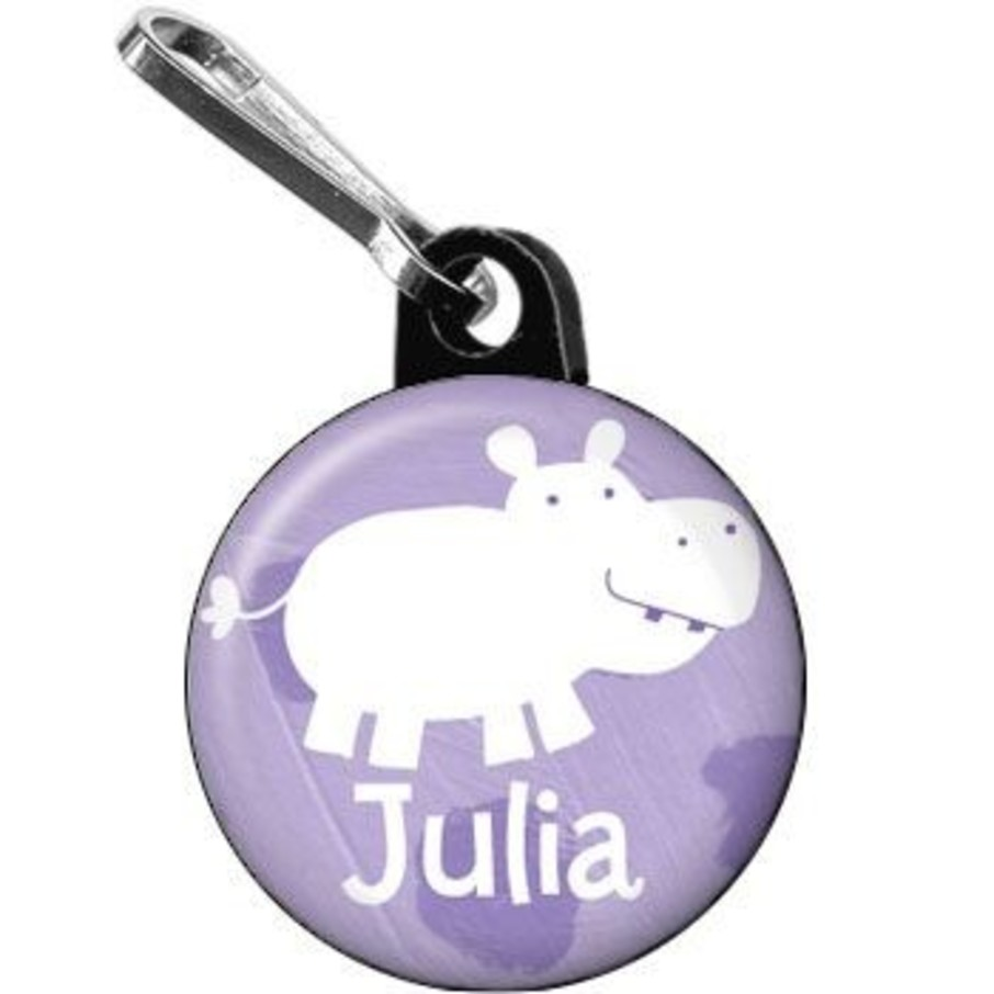 View larger image of Zoo Babies Party Personalized Mini Zipper Pull (each)